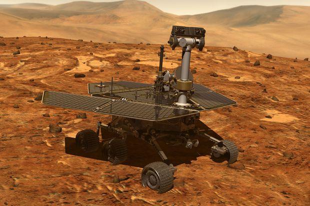 Марсоход Opportunity перестал выходить на связь