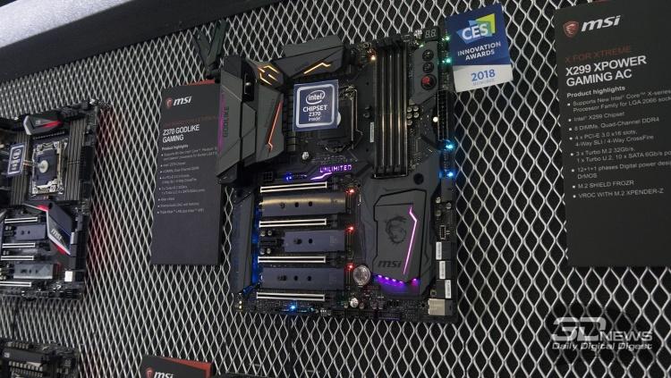 Репортаж со стенда MSI на выставке Computex 2018