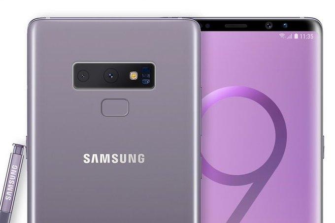 Смартфон Samsung Galaxy Note9 получит дополнительную кнопку для камеры и скриншотов