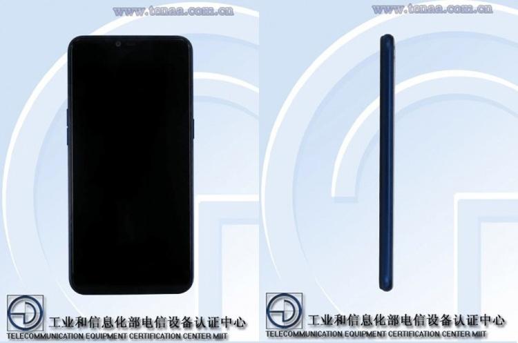 OPPO выпустит новый смартфон с экраном FullView и ОС Android 8.1