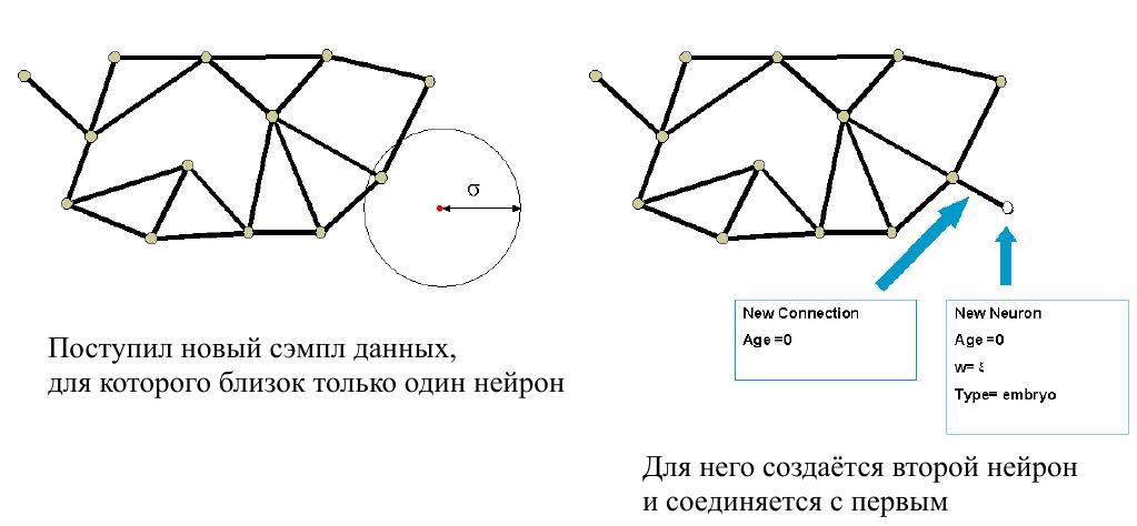 IGNG — инкрементальный алгоритм растущего нейронного газа - 19