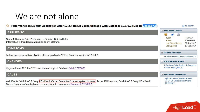 100500 способов кэширования в Oracle Database - 36
