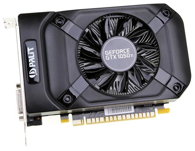 Palit выпустила видеокарту GeForce GTX 1050 StormX с 3 Гбайт памяти