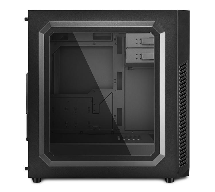 Sharkoon VS7 Window: ПК-корпус со строгим дизайном и смотровым окном