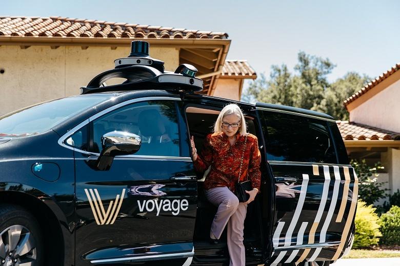 Voyage использует лидар Velodyne в системе для самоуправляемых машин