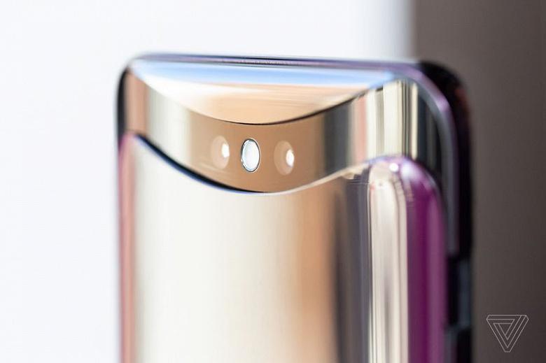 Представлен смартфон Oppo Find X: огромный экран и не единой камеры на корпусе в закрытом состоянии