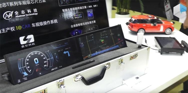 Процессор Allwinner T7 рассчитан на «умные» автомобили