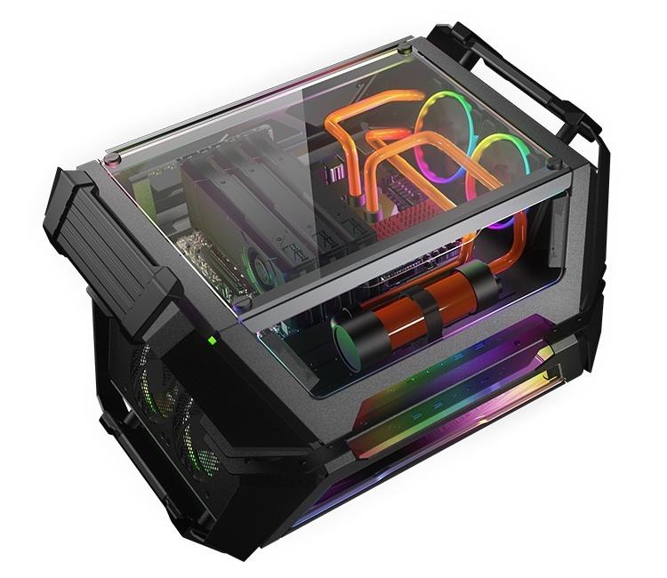 Корпус Cougar Gemini X позволяет сформировать сразу две компьютерные системы