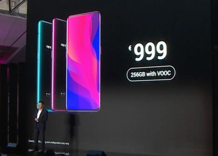 Oppo выходит на европейский рынок вместе со смартфоном Find X