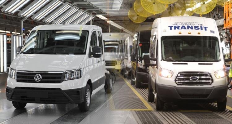 Volkswagen и Ford ведут переговоры о совместном создании коммерческих автомобилей