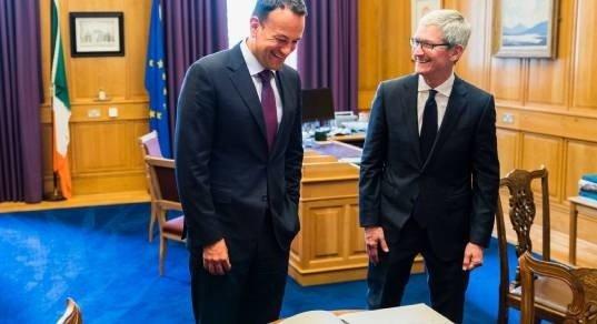 Тим Кук утверждает, что в Ирландию Apple подалась вовсе не из-за налогов