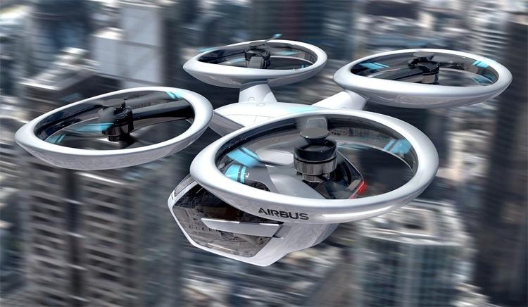 В Германии будут организованы испытания летающих такси