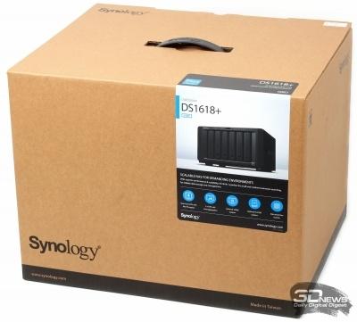 Новая статья: Обзор NAS Synology DS1618+: безупречный