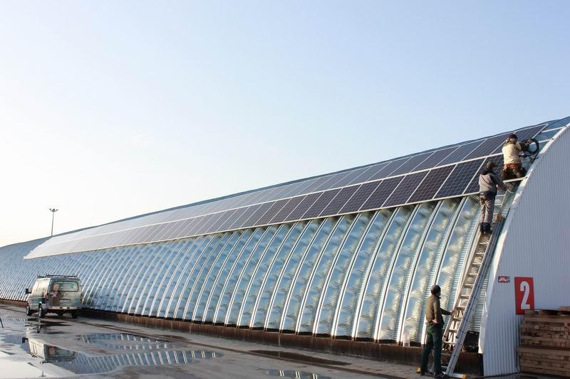 Как производственный цех перешел на даровую энергию солнца - 2
