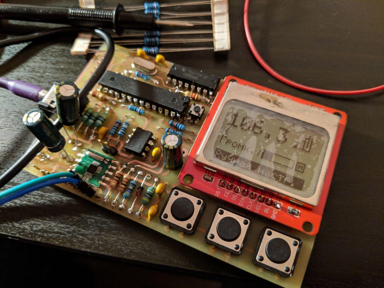 Радиоконструктор: FM радио на базе Atmega328-P и RDA5807M - 8