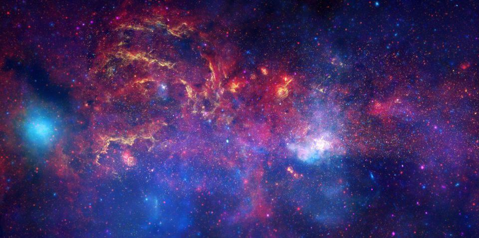 Млечный Путь прячет десятки тысяч чёрных дыр - 3
