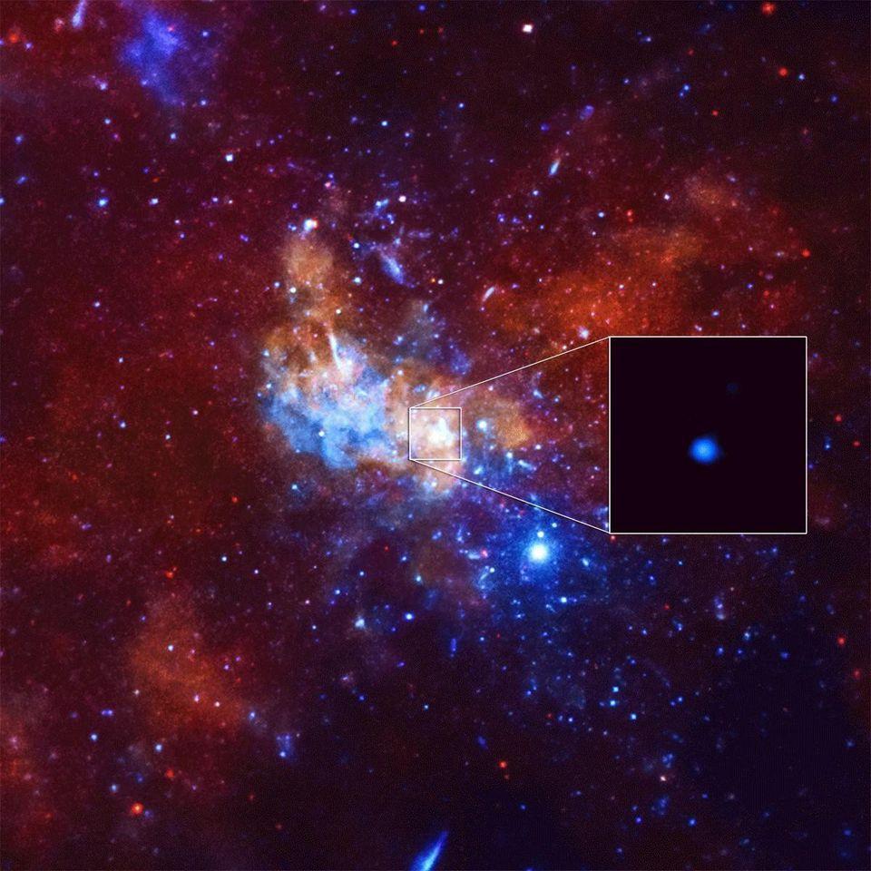 Млечный Путь прячет десятки тысяч чёрных дыр - 6