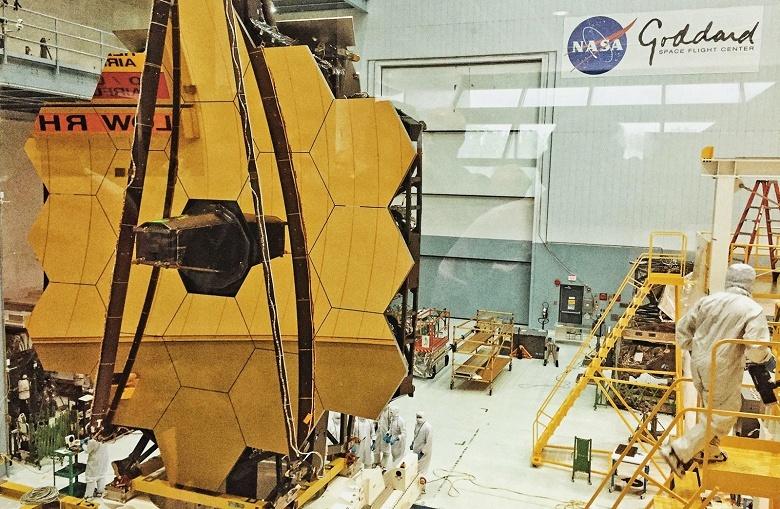 Названа новая дата запуска космического телескопа Джеймс Вебб
