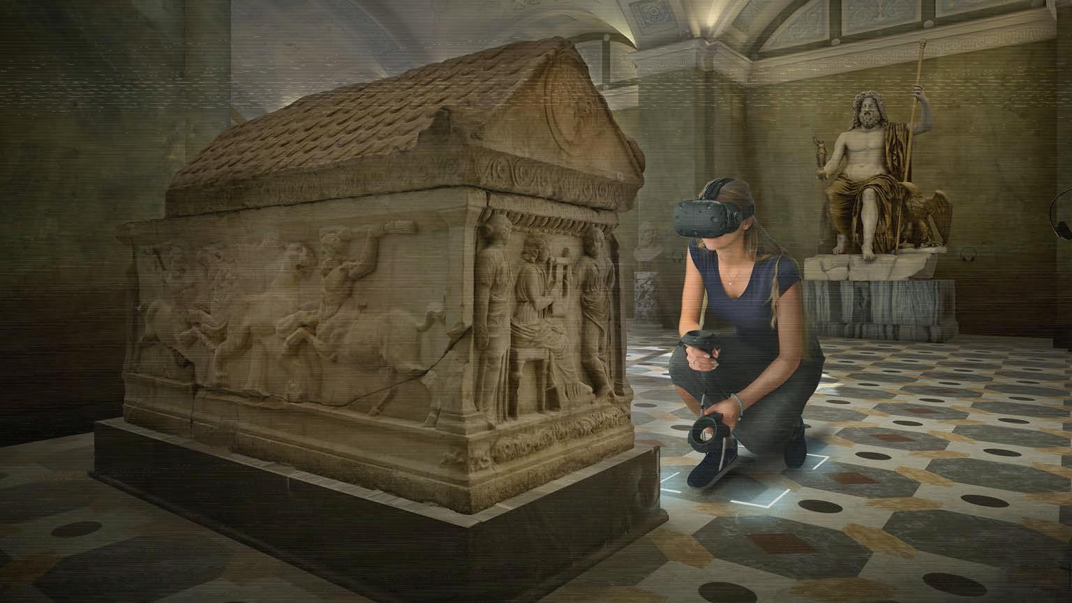Виртуальный зал Эрмитажа — первый шаг к будущему по Пелевину - 10