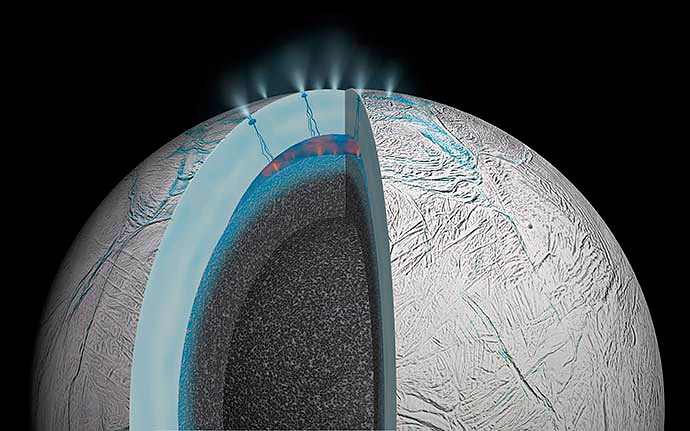 На спутнике Сатурна обнаружены сложные органические молекулы - 1