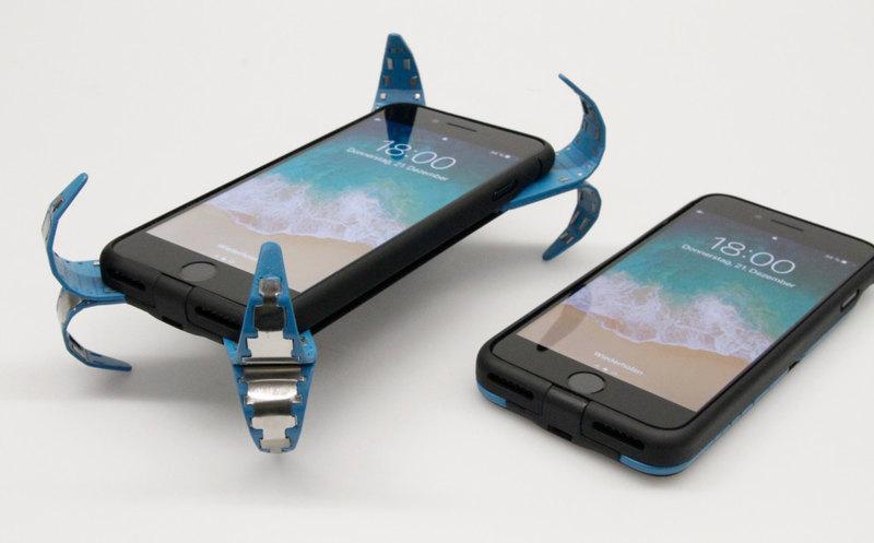 Немецкий студент придумал «подушку безопасности» для смартфона