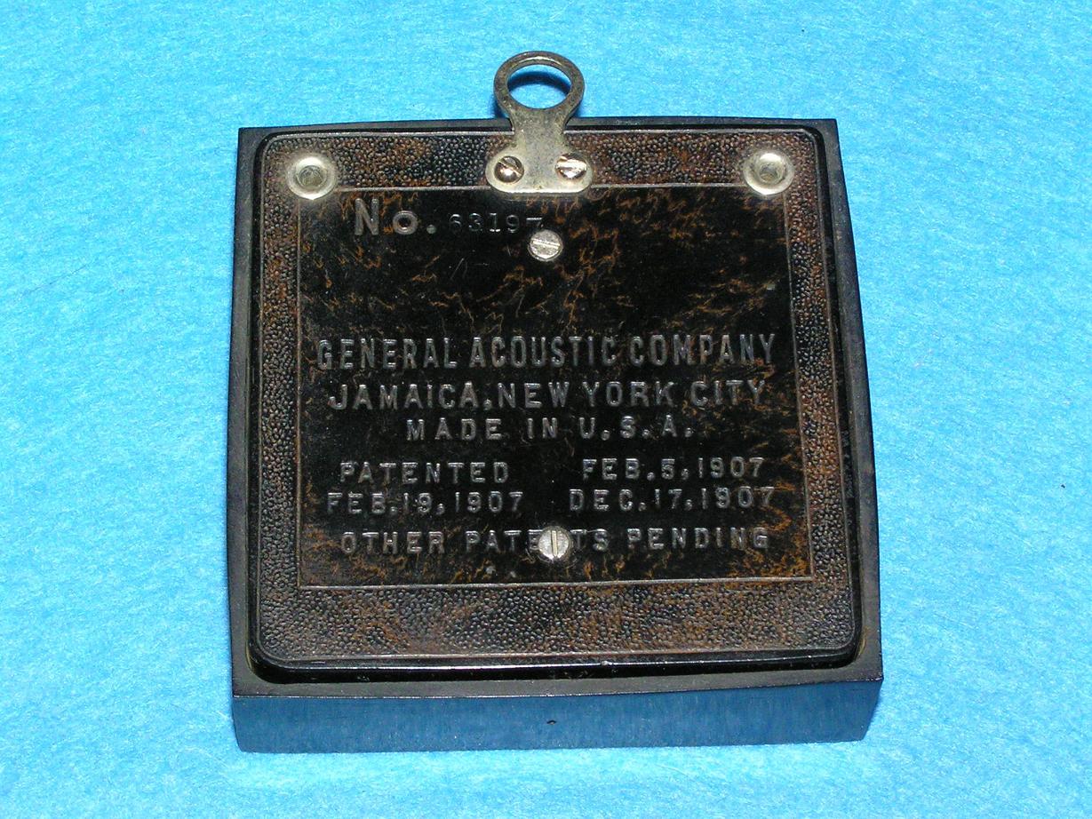 Аудиогаджет специального назначения: Dictograph — от цеха и оперы до первой прослушки, технический шедевр 1907-го года - 11
