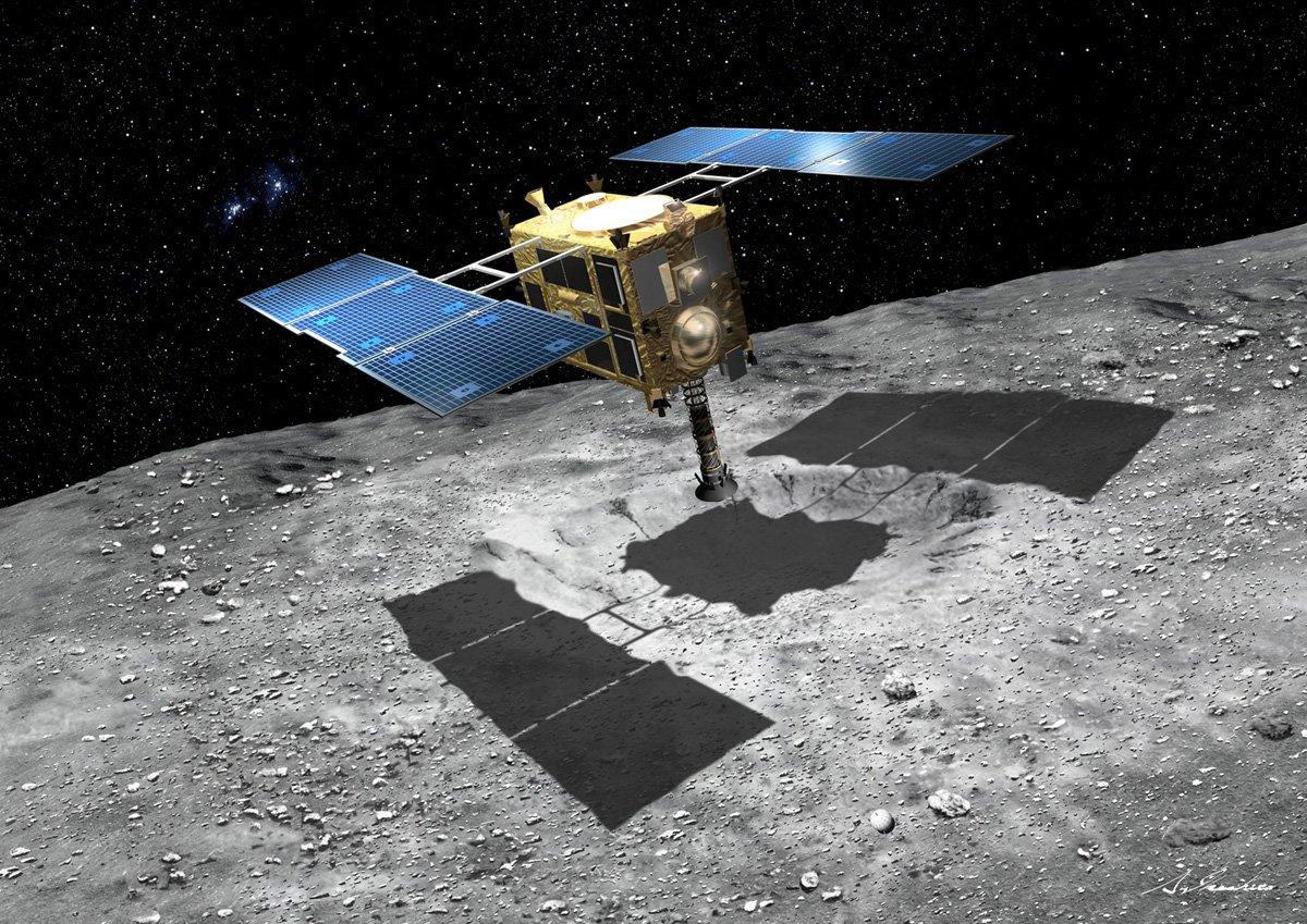 Миссия «Хаябуса-2»: астероиды раскрывают историю Солнечной системы - 1