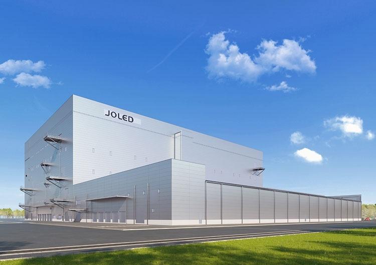 В 2020 году JOLED запустит завод по производству OLED-панелей методом струйной печати