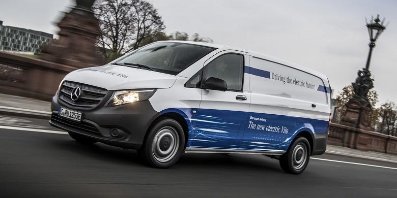 Amazon покупает 100 электрических фургонов Mercedes-Benz eVito