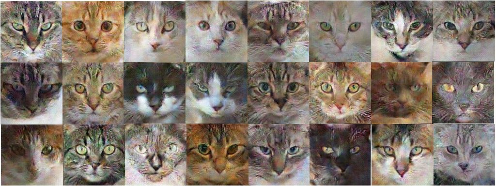 Как ИИ учится генерировать изображения кошек - 1