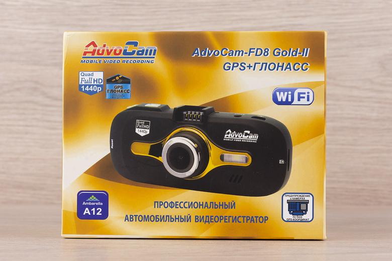 Как русские довели до ума американский процессор, или обзор видеорегистратора AdvoCam-FD8 Gold-II (GPS+ГЛОНАСС) - 2