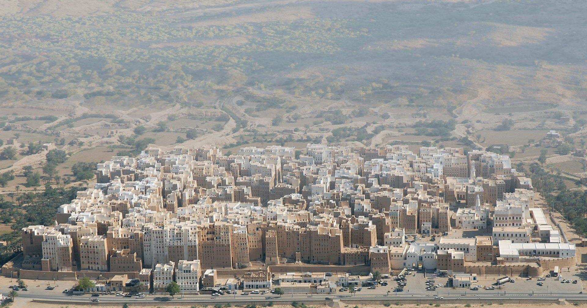 Самые древние небоскрёбы в мире: глиняный город Шибам
