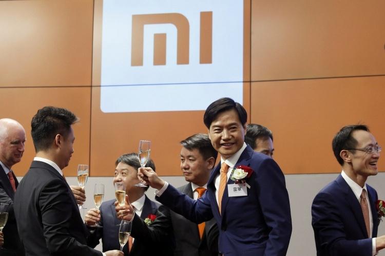 Котировки акций Xiaomi падают после IPO