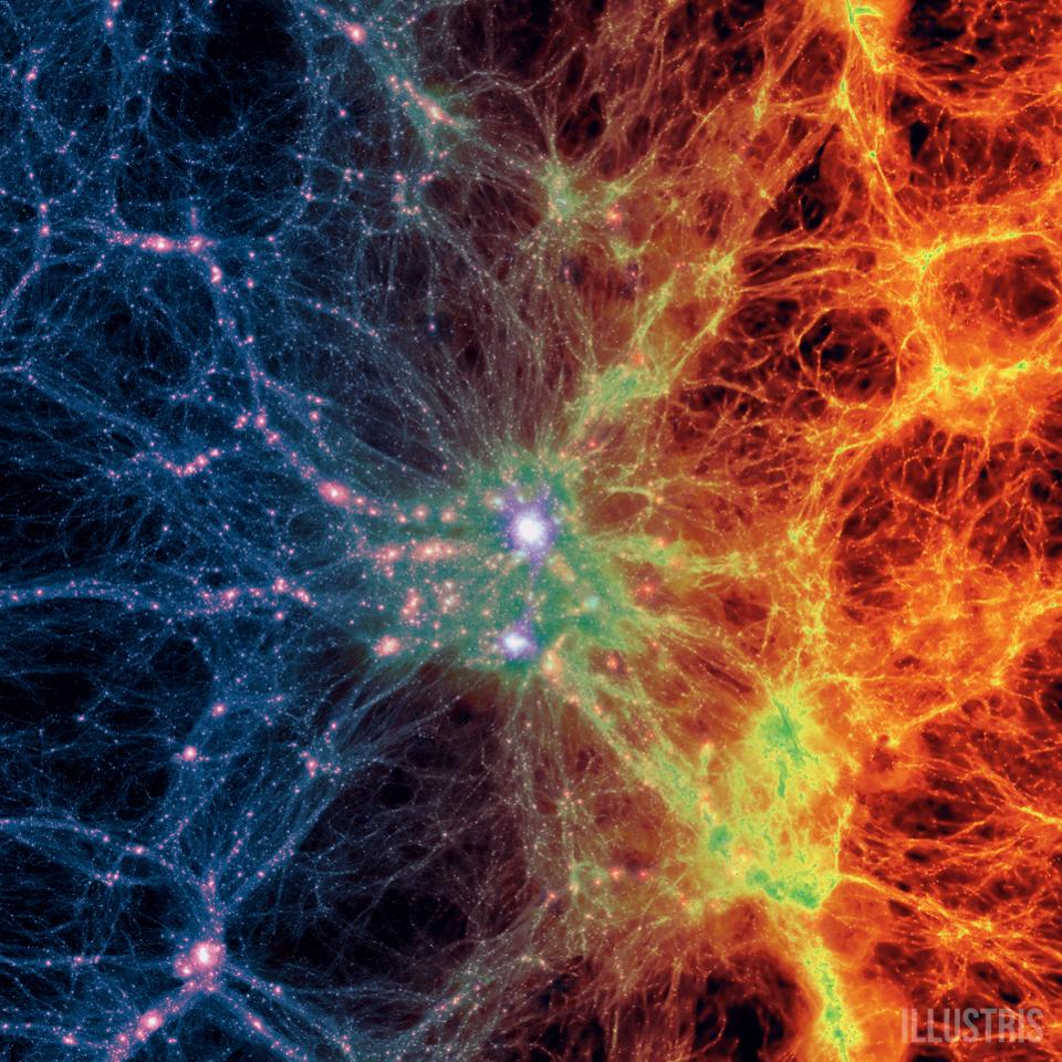 Сколько тёмной материи проходит через ваше тело каждую секунду - 1