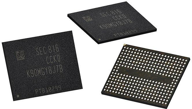 Samsung начинает серийный выпуск флэш-памяти V-NAND пятого поколения для смартфонов и суперкомпьютеров