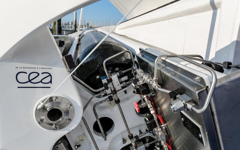 Toyota поддержала первый водородный катамаран