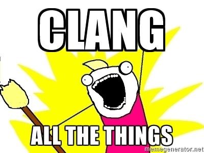 Clang. Часть 1: введение - 1