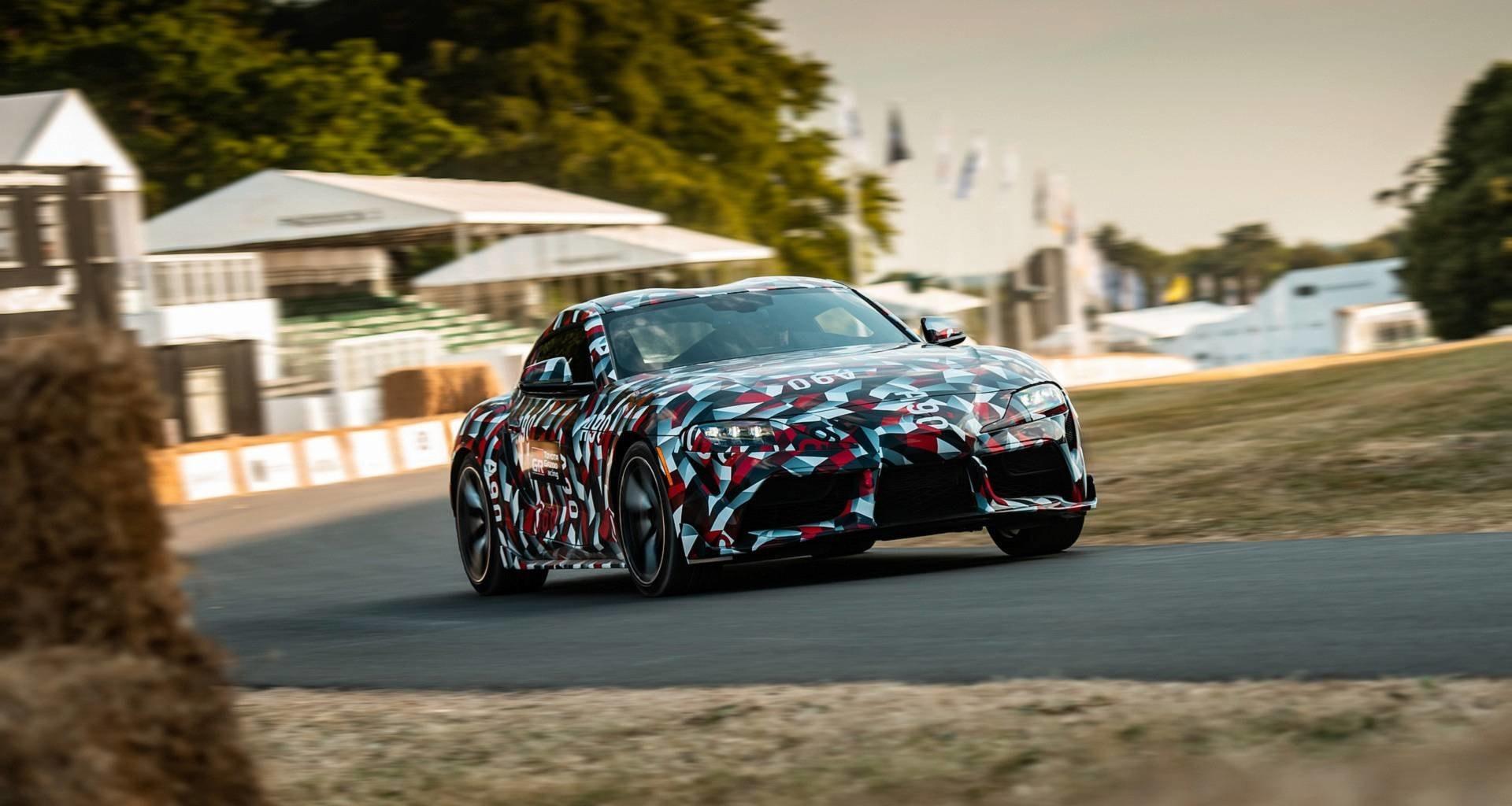 Новая Toyota Supra дебютировала в Гудвуде: видео