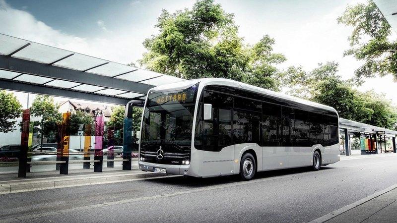 Представлен полностью электрический автобус Mercedes-Benz eCitaro