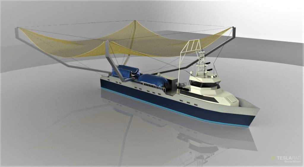 Завершена масштабная модернизация Mr.Steven для установки четырёхкратно бОльшей ловчей сети - 11