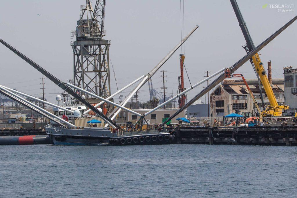 Завершена масштабная модернизация Mr.Steven для установки четырёхкратно бОльшей ловчей сети - 6