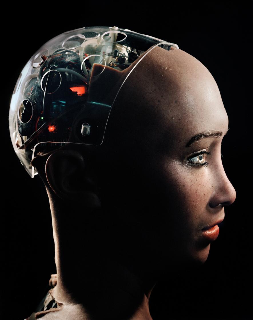 Знакомьтесь, София: робот, почти неотличимый от человека - 1