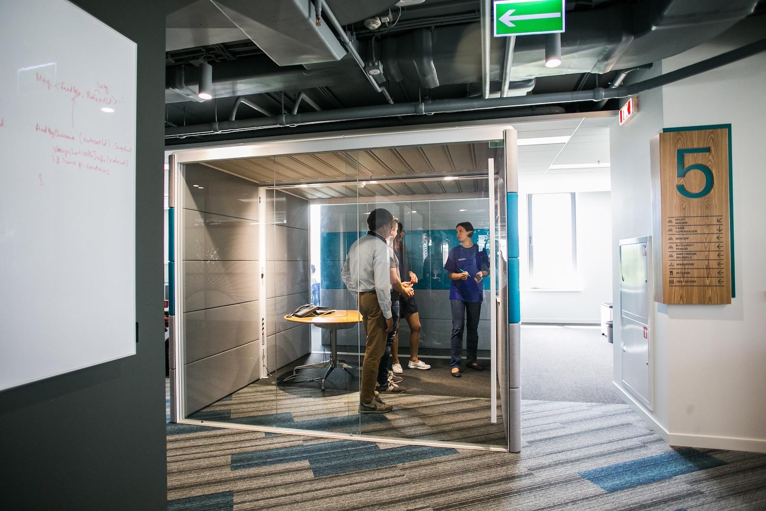 Офис под Agile: где разместить тысячу разработчиков? - 8