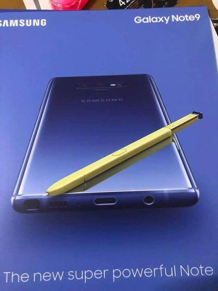 Раскрыта стоимость фаблета Samsung Galaxy Note 9
