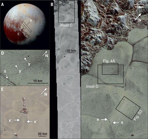 «Песчаные дюны» Плутона состоят не из песка – это гранулы замёрзшего метана - 3