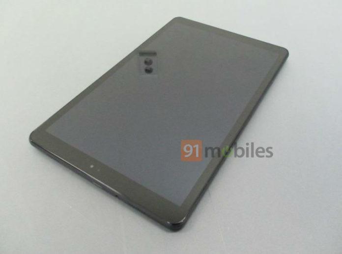 Планшет Samsung Galaxy Tab A2 10.5 красуется на первых живых фото