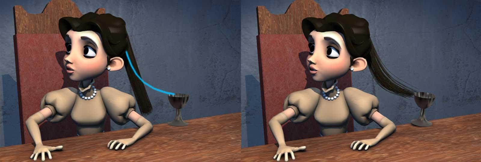 Дисней представила собственную систему анимации волос HairControl - 1
