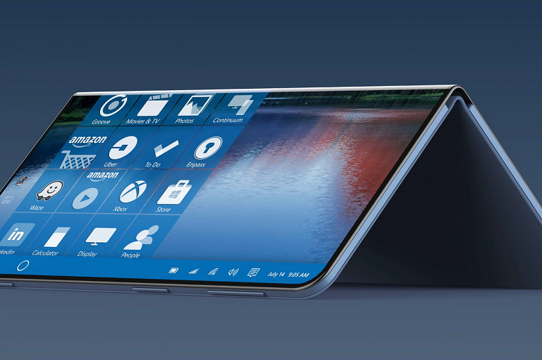 Сгибающийся смартфон Surface Phone не входит в текущие планы Microsoft