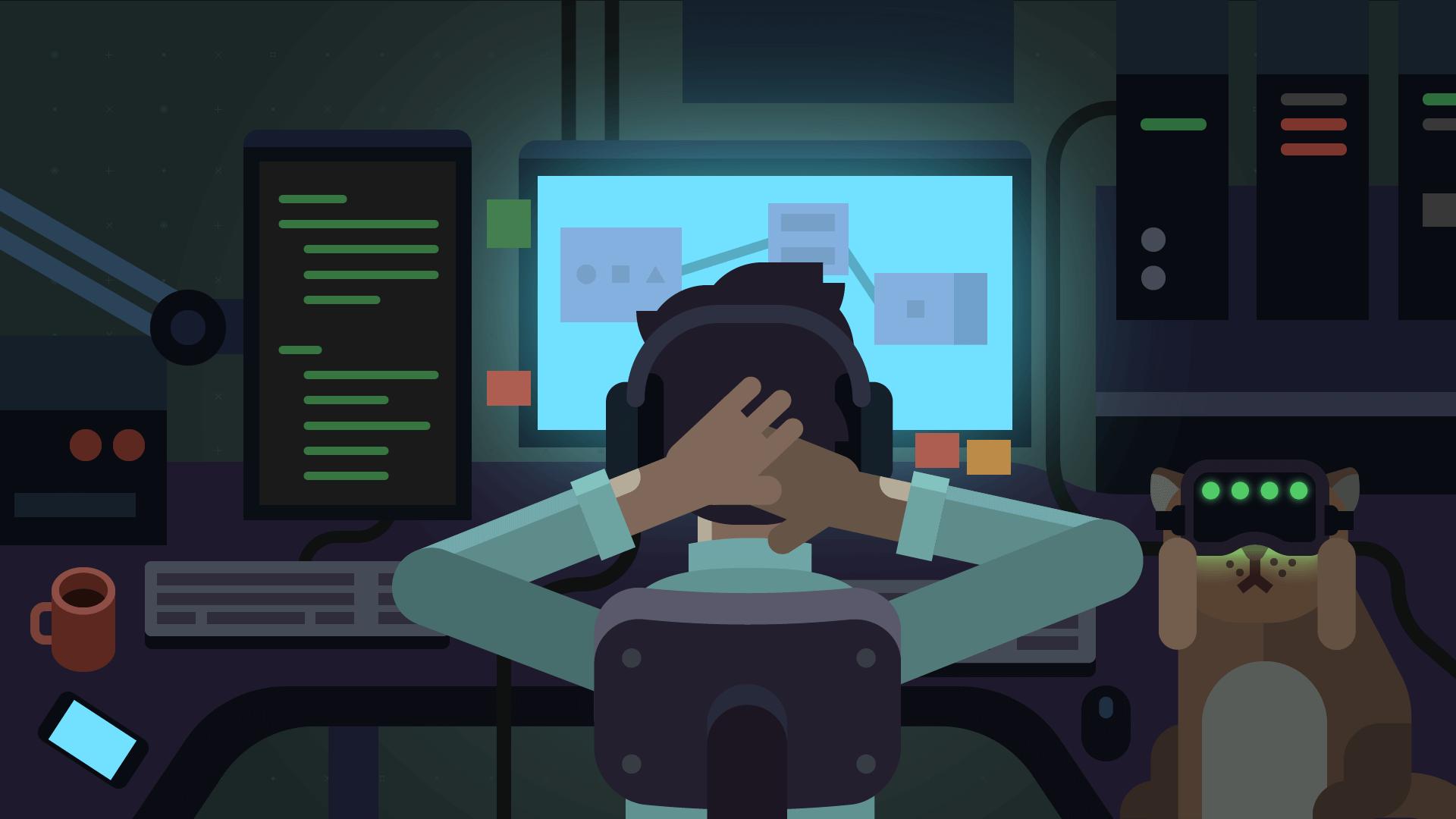 Создатель игры while True: learn() о программировании в геймдеве, проблемах с VR и симуляции ML - 1
