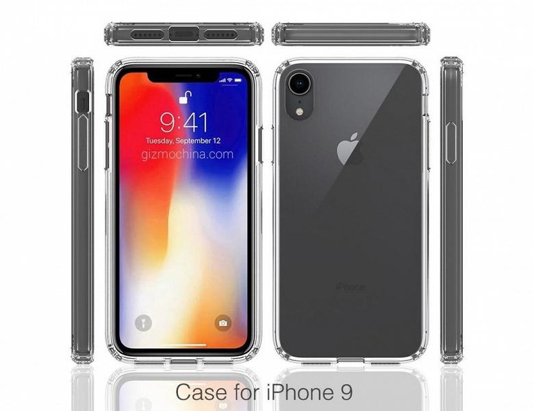 У Apple iPhone 9 будет «бровь» и одинарная основная камера